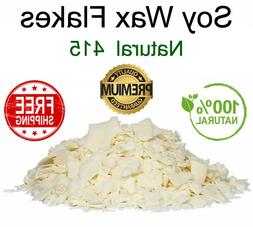 100% Soy Wax Flakes PREMIUM QUALITY Candle Making Supplies C