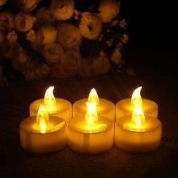 12 PCS Flameless Votive Candles Remote Control Flickering We