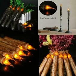 12pcs Electronic LED Candles for Church Birthday Wedding Hal