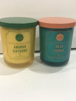 DW Home 15.01 oz Candle 56 hours Blue Hawaii OR Banana Smoot