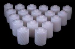 15 Hour Scented Votive Candles 20 Candles Per Box Textured F