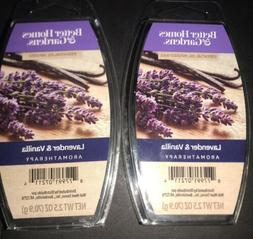 2  BETTER HOMES & GARDENS Aromatherapy Wax Melts LAVENDER &