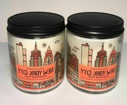 2 Piece Bath and Body Works NEW YORK CITY Single Wick Candle