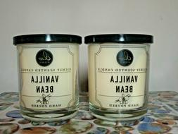 2 DW Home VANILLA BEAN Richly Scented Candles Small 3.8 oz.