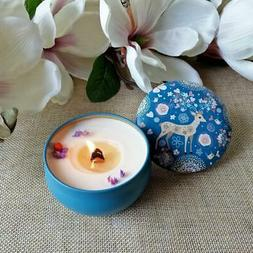 2Pcs Candle Tin Jars, Metal Tin Container Perfect for Making