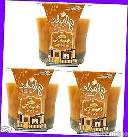 3 Glade Fall Collection MAPLE TREE INN Wax Candle 4 oz ea