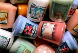 """3 Yankee Candle Votives """"Your Choice"""""""