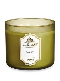White Barn 3-Wick Scented Candle in FLANNEL