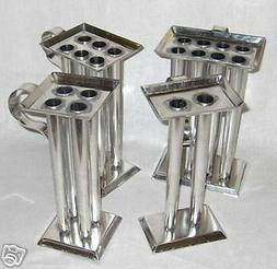 6 TUBE TAPER Metal Candle Mold