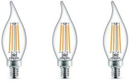 Candle Light Bulbs 60-Watt Equivalent Daylight Dimmable LED