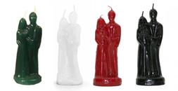 7 1/2'' Tall Marriage Union Candle SOLID Color Candle U Pick