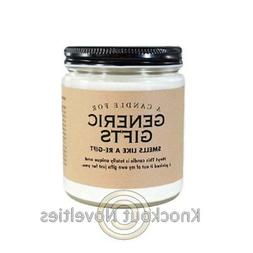 7 oz. Generic Gifts Candle Funny Novelty Scent Scented Gift