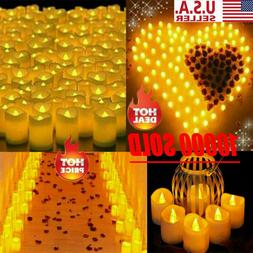 72PCS Flameless Votive Candles Battery Operated Flickering L