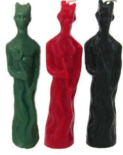 9 Inch Devil Image Ritual Candle SOLID Color Candle U PICK B
