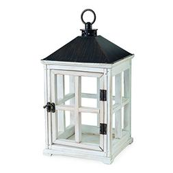Candle Warmers Etc. Wooden Candle Warmer Lantern, Weathered