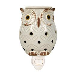 Langley Empire Candle Plug in Warmers, White Owl