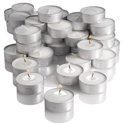 New York Candle and Company Unscented Candles Set, Tealight,