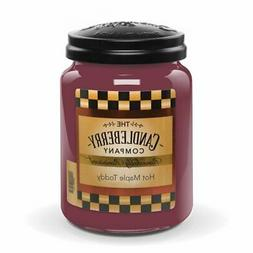 Two 26 Oz Hot Maple Toddy Jar Candles