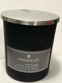 Pecksniffs Amber & Oud Wood Candle 6.34 Oz. In Glass From En