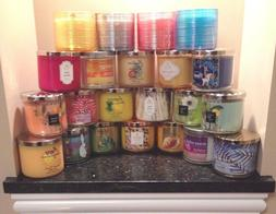 BATH AND BODY WORKS 3 WICK CANDLE 14.5 OZ  SAVE $2.00 S/H 2n