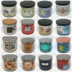 Bath & Body Works 3-Wick Candles << CHOOSE >> 47 Scents