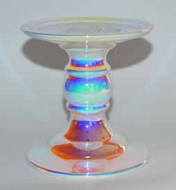 BATH & BODY WORKS IRIDESCENT PEDESTAL LARGE 3 WICK CANDLE HO