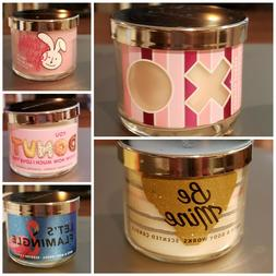 BATH AND BODY WORKS MINI 1.3 OZ. CANDLES  HOLIDAY  YOU CHOOS