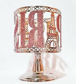 Bath & Body Works PINK PARIS EIFFEL TOWER 3-Wick Candle Hold
