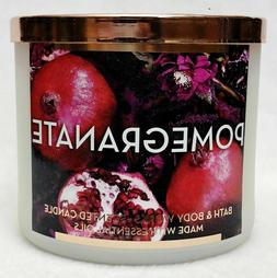 Bath & Body Works Pomegranate Large 3 Wick Scented Candle ca
