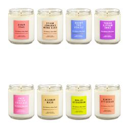 Bath and Body Works Single Wick Scented Candles 7 OZ  You Ch