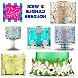 Bath Body Works 3 Wick 14.5oz Holder Sleeve CANDLE SOLD SEPA