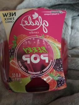 Glade berry pop Candle