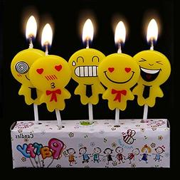 Ecape Birthday Candle Boxes Consist of 5 Someting like Pegma