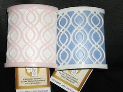 Yankee Candle BLUE & PINK LATTICE Electric Scent Plug In Bas
