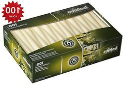 Bolsius10 inch Ivory taper candles Box Of 100