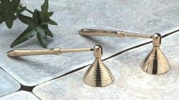 Biedermann & Sons 12 Count Brass Candle Snuffers, Mini
