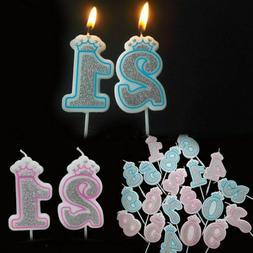 Cake Decoration Creative Number Candles 0-9 For Kids Adult B