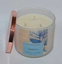 Bath & Body Works Candle 3 Wick 14.5 Ounce Cypress