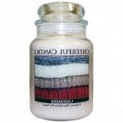 A Cheerful Giver Candle - Cashmere - 24-oz Jar