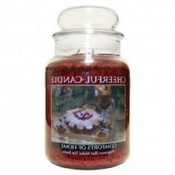A Cheerful Giver Candle - Comforts Of Home - 24-oz Jar