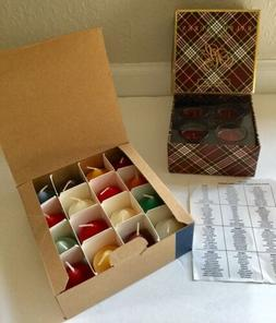 RALPH LAUREN Candle Holiday Set of 4 Scented  Candle AND 16