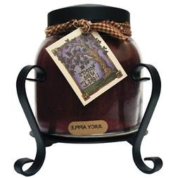 A Cheerful Giver Candle Jar Holder, Black New