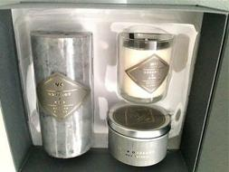DW Home Candle Set Scented Tobacco & Oud Men's Luxury Office