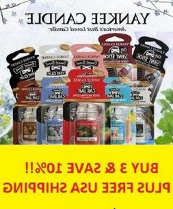 ☆YANKEE CANDLE CAR JAR ULTIMATES CHOOSE THE SCENT☆BUY 3