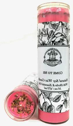 Come to Me 7 Day Soy Spell Candle Love Seduction Passion Wic
