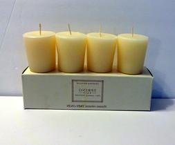 CRABTREE EVELYN  SET OF 4 SCENTED VOTIVE CANDLES~SPRING RAIN