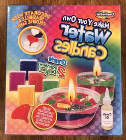 Creative Kids Make Your Own Water Candles Factory Sealed New
