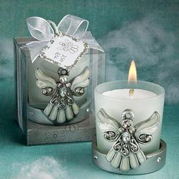 Cross Themed Candle Wedding Favors: Regal Favor Collection,