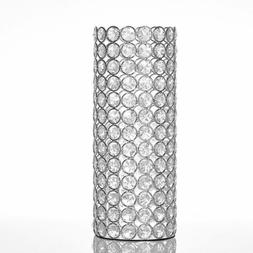 Crystal Candle Holders Vase Home Decoration Table Centerpiec