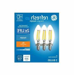 Daylight 40-Watt EQ  Dimmable Candle Light Bulb for Sconces,